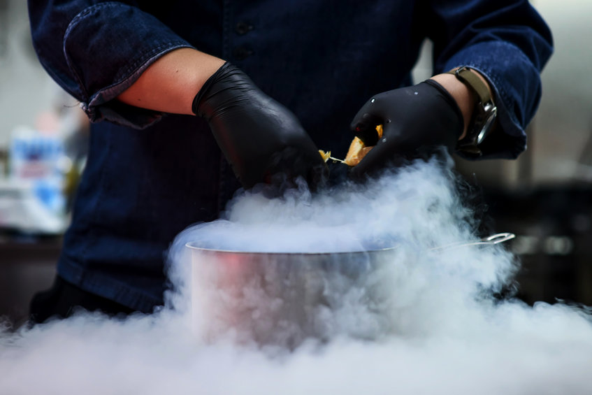 ice cooking