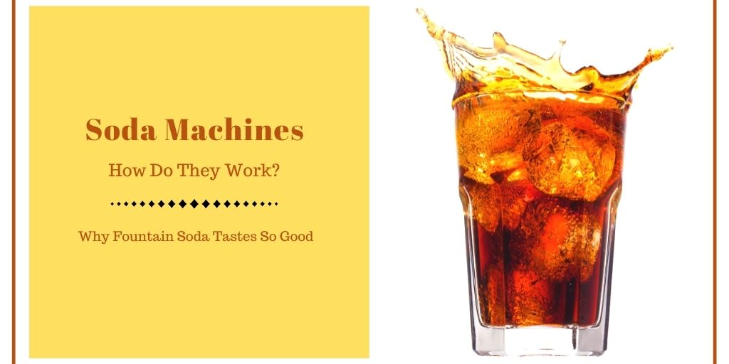 how do soda machines work